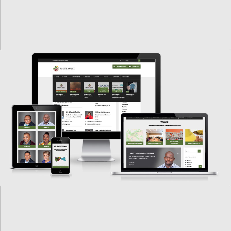 Breede Valley Municipality Website
